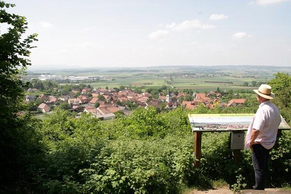 Hutehäuschen auf dem Historischen Rundwanderweg bei Königsberg in Bayern