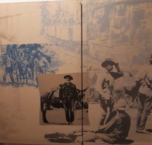 Foto Siedler in Amerika im 19. Jahrhundert