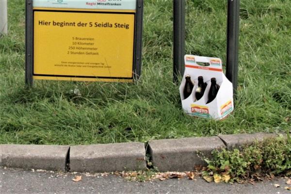 Foto Schild zum Fünf-Seidla-Steig
